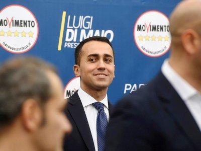 Le leader du Parti Cinq Etoiles (M5S) Luigi Di Maio, le 5 mars 2018 à Rome - Filippo MONTEFORTE [AFP]
