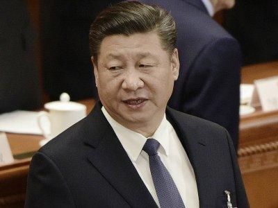 Le président chinois Xi Jinping durant la session plénière de l'Assemblée nationale populaire à Pékin, le 11 mars 2018    FRED DUFOUR [AFP/Archives]