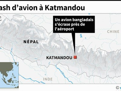 Crash d'avion à Katmandou    © AFP [AFP]
