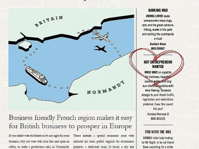 Le Normandy Times.    © AD Normandie