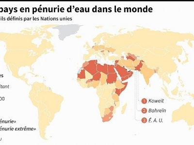 Les 45 pays en pénurie d'eau dans le monde    Thomas SAINT-CRICQ [AFP]