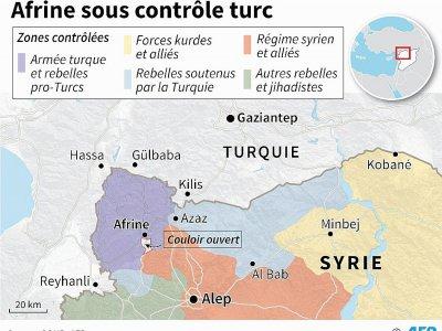 Afrine sous contrôle turc - William ICKES [AFP]