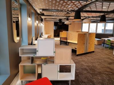 Un espace coworking pour le travail dans une ambiance qui se veut agréable. - Gilles Anthoine