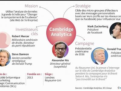 Cambridge Analytica - Gillian HANDYSIDE [AFP]