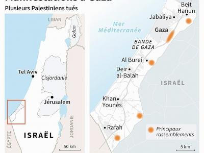 Manifestations à Gaza - Sophie RAMIS [AFP]