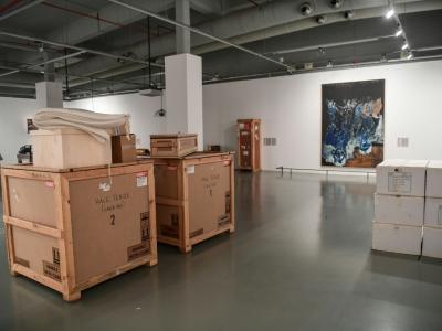 Le musée doit rouvrir dans trois ans dans un nouveau site conçu par l'architecte italien Renzo Piano. Photo prise à Istanbul le 23 mars 2018    OZAN KOSE [AFP]