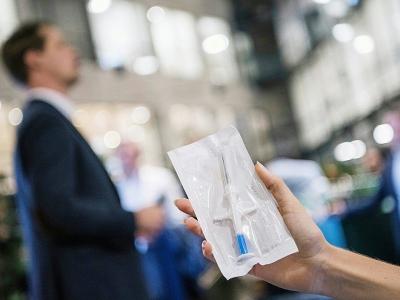 Il existe 3.000 adeptes de cette nouvelle technologie, en Suède    Jonathan NACKSTRAND [AFP]