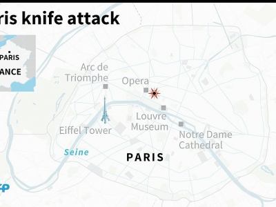 Paris knife attack