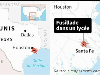Fusillade au Texas     [AFP]