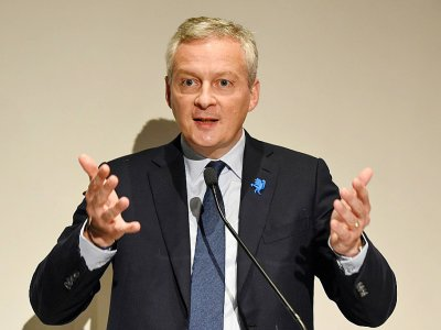 Le ministre de l'Economie Bruno Le Maire, le 12 juin 2018 à Paris    ERIC PIERMONT [AFP/Archives]