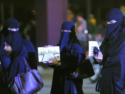Des Saoudiennes participent à un atelier de conduite à Ryad, le 21 juin 2018    FAYEZ NURELDINE [AFP]