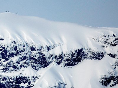 Le sommet sud du Kebnekaise le 17 mars 2011.    - [SCANPIX NORWAY/AFP/Archives]