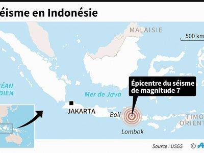 Séisme en Indonésie - AFP [AFP]