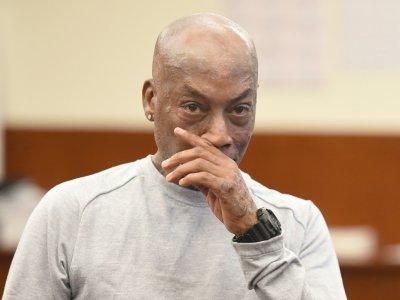 Dewayne Johnson, après avoir entendu le verdict dans le procès qui l'opposait au géant Monsanto, le 10 août 2018 à San Francisco en Californie - JOSH EDELSON [AFP]
