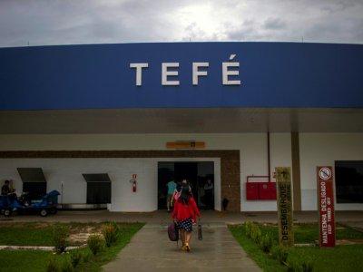 Aéroport de Téfé, ville en pleine jungle amazonienne, le 26 juin 2018    Mauro Pimentel [AFP]