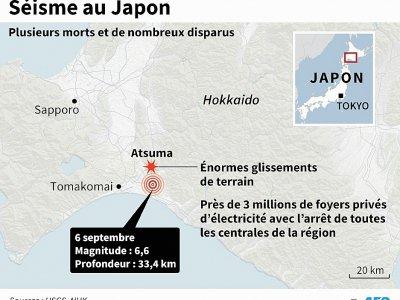 Séisme au Japon - Laurence CHU [AFP]