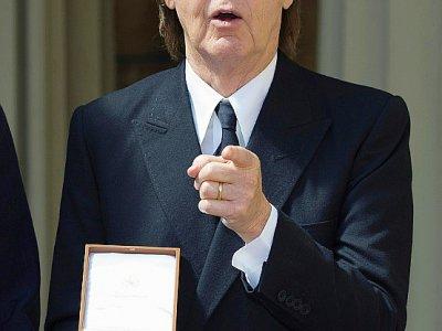 Le musicien britannique Paul McCartney fait partie de soutiens au texte, et a écrit aux eurodéputés    Bradley PAGE [POOL/AFP/Archives]