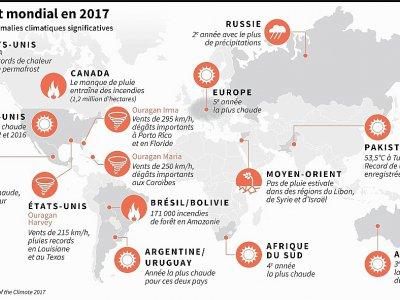 Des anomalies climatiques importantes en 2017     [AFP]