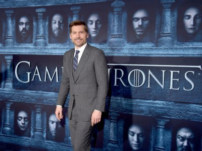 "Une des stars de ""Game of Thrones"", Nikolaj Coster-Waldau, l'interprète de Jaime Lannister dans la série, à Hollywood, en Californie, le 10 avril 2016"