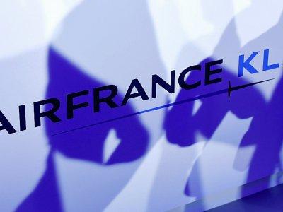 """Le nouveau patron d'Air France KLM, Benjamin Smith va investir la moitié de sa rémunération fixe, soit 450.000 euros par an, dans le capital du groupe pour afficher sa """"confiance"""" dans """"le futur succès"""" du groupe    ERIC PIERMONT [AFP/Archives]"""