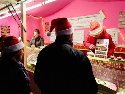 Le marché de Noël des Champs-Elysées le 16 décembre 2012 à Paris    J.Demarthon [AFP/Archives]