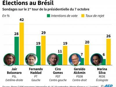 Elections au Brésil - Tatiana MAGARINOS [AFP]