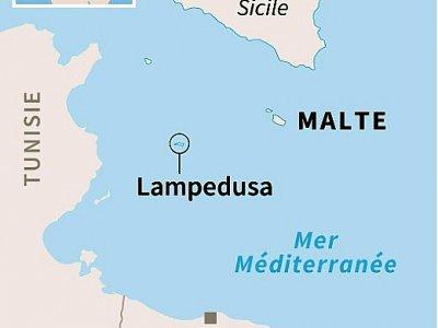 Lampedusa    Simon MALFATTO [AFP/Archives]