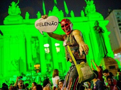 Des manifestations anti-Bolsonaro ayant jeté dans les rues des centaines de milliers de Brésiliennes    Mauro Pimentel [AFP/Archives]