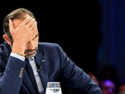 Le Premier ministre Edouard Philippe, à Chamonix, le 28 septembre 2018    JEAN-PIERRE CLATOT [AFP/Archives]