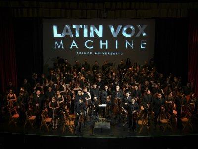L'ensemble Latin Vox Machine, un orchestre virtuose d'exilés vénézuéliens, donne son premier concert à Buenos Aires, le 9 octobre 2018    EITAN ABRAMOVICH [AFP]