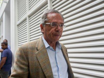 Paulo Guedes, gourou ultra-libéral du président élu du Brésil Jair Bolsonaro, le 30 octobre 2018 à Rio    Mauro Pimentel [AFP]