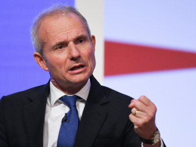 David Lidington le 2 octobre 2018 à Birmingham