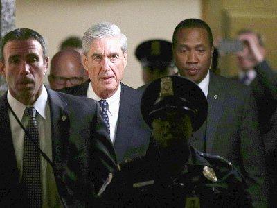 Le procureur spécial Robert Mueller, en charge de la délicate enquête russe    ALEX WONG [GETTY IMAGES NORTH AMERICA/AFP]