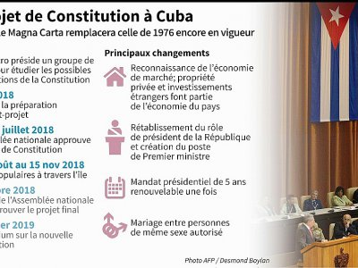 Le projet de Constitution à Cuba    Nicolas RAMALLO [AFP]