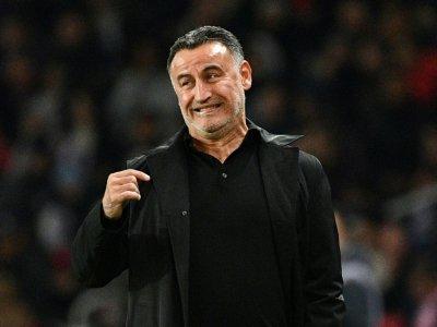 L'entraîneur de Lille Christophe Galtier lors du match face au PSG le 2 novembre 2018    FRANCK FIFE [AFP]