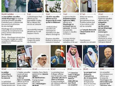 L'affaire Khashoggi - John SAEKI [AFP/Archives]