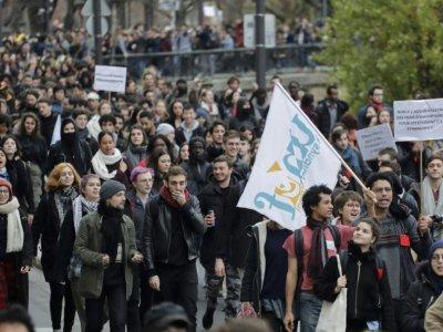 Manifestation de lycéens, le 6 décembre 2018 à Paris    Thomas SAMSON [AFP]