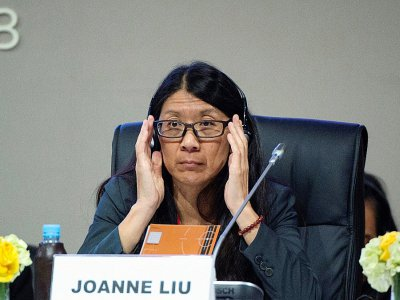 La présidente de l'ONG Médecins sans frontières (MSF) Joanne Liu à la Conférence de Marrakech ayant mené à l'adoption du Pacte mondial sur les Migrations, le 11 décembre 2018    FADEL SENNA [AFP]