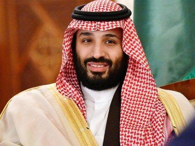 Le prince saoudien Mohammed ben  Salman, à Algers le 2 décembre  2018 - RYAD KRAMDI [AFP/Archives]