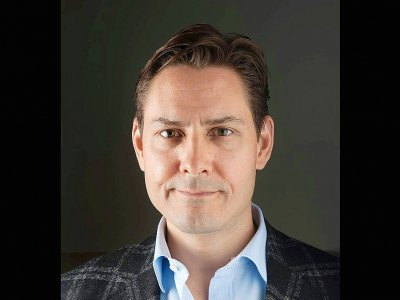 L'ex-diplomate Michael Kovrig le 26 avril 2017 (photo transmise par l'International Crisis Group)