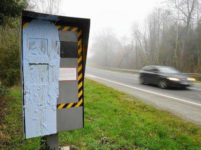 Radar dégradé à Bonnemain, dans l'ouest de la France, photographié fin décembre 2018    DAMIEN MEYER [AFP/Archives]