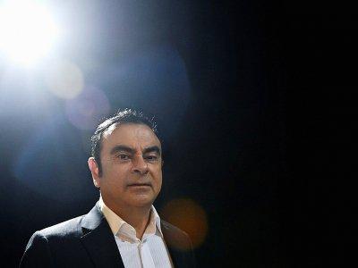 Carlos Ghosn, le 8 novembre 2016 à Lisbonne    Patricia De Melo MOREIRA [AFP/Archives]