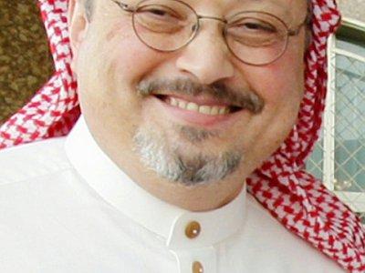 Le journaliste saoudien Jamal Khashoggi, le 16 mai 2010 à Ryad - STRINGER [AFP/Archives]
