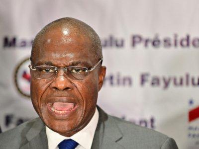 Martin Fayulu, le 18 janvier 2019 à Kinshasa - TONY KARUMBA [AFP]