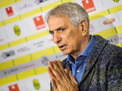 L'entraîneur du FC Nantes, Vahid Halilhodzic, donne une conférence de presse à La Chapelle-sur-Erdre, en Loire-Atlantique, le 25 janvier 2019    LOIC VENANCE [AFP]
