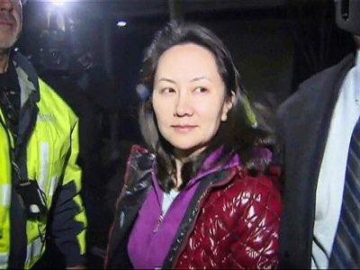 La dirigeante de Huawei Meng Wanzhou le 11 décembre 2018 à Vancouver - - [CTV/AFP]