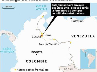 Blocage de l'aide au Venezuela    Nicolas RAMALLO [AFP]