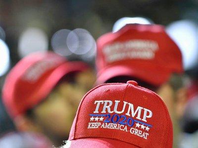 Des partisans de Donald Trump lors d'un meeting de campagne à El Paso, Texas - Nicholas Kamm [AFP]