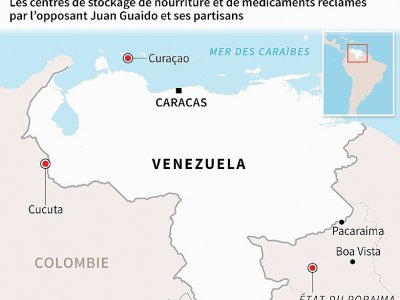 L'aide humanitaire vers le Venezuela    Nicolas RAMALLO [AFP]
