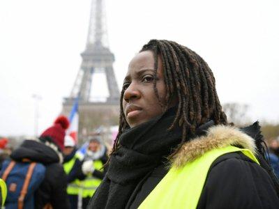 Priscillia Ludosky , le 20 janvier 2019, à Paris    Eric FEFERBERG [AFP/Archives]